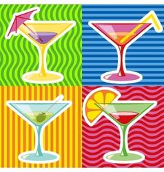 martini vector image