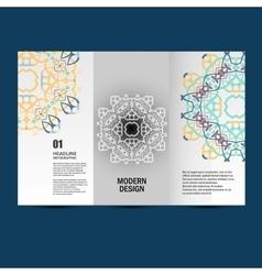 Pattern beautiful pattern on printed vector