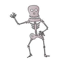 Sketch of the skeleton vector