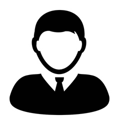 User Icon - Businessman - Profile - Man Avatar vector
