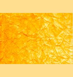 yellow golden foil background decorative elegant vector image