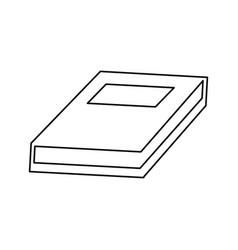 school book learn knowledge read vector image vector image