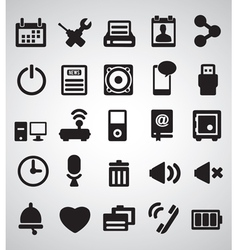 Set of Internet icons - part 2 vector image vector image
