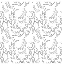 Abstract Contour Seamless Background vector image