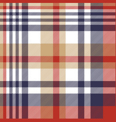 check classic tartan seamless pattern vector image