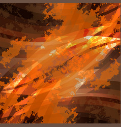 dark orange background texture vector image