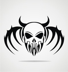 Demon Skulls Tribal vector