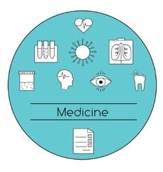 Modern medicine concept vector