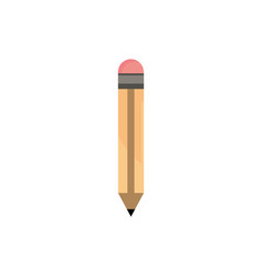 pencil office work business equipment icon vector image