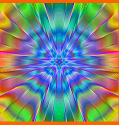 Psychedelic poster vector