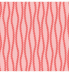 Red abstract lace pattern vector image