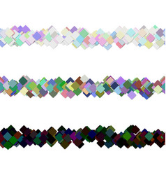 Repeatable abstract square pattern paragraph vector