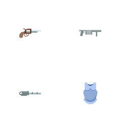 set of game icons flat style symbols with rpg vector image