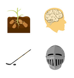 sport nature history and other web icon in vector image