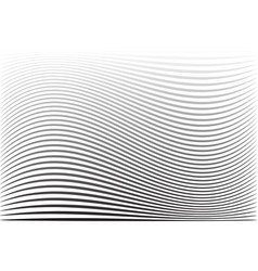 Wavy lines striped texture vector