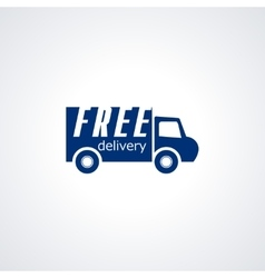 Free delivery Free shipping 24 hour and fast vector image