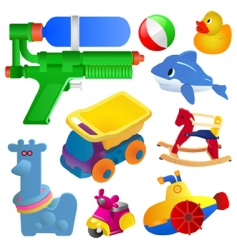 toy set vector image