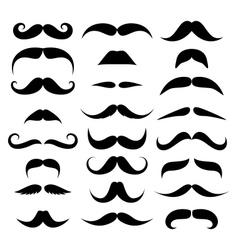 Huge set of mustache vector