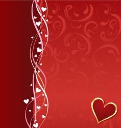 valentine composition vector image
