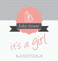 b shower1 vector image