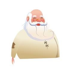 character santa claus christmas image vector image