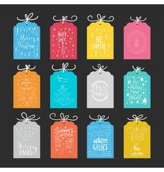 Christmas Card Collection vector