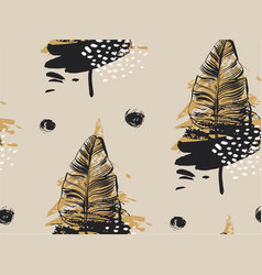hand drawn abstract textured seamless vector image