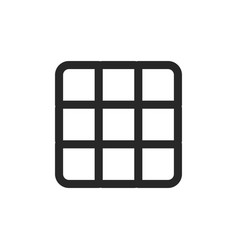 rubiks cube icon vector image