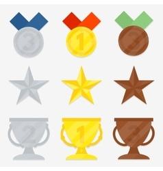 Set of awards vector