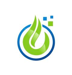 eco liquid water data vector image