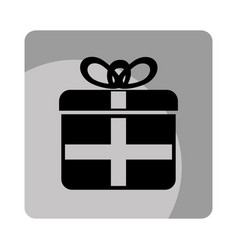 giftbox party celebration icon vector image