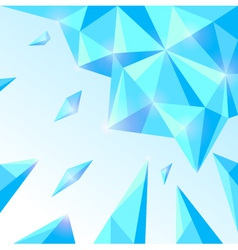 Ice abstract background vector image vector image
