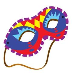 a mardi gras mask vector image