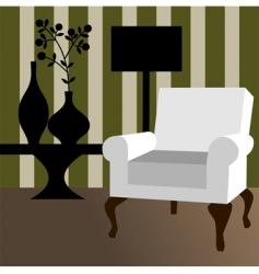 modern interior vector image vector image