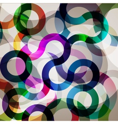 colorful abstract circle vector image vector image