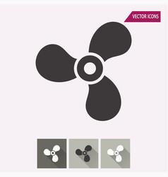 Fan - icon vector