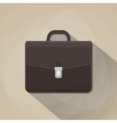 brown leather business vector image