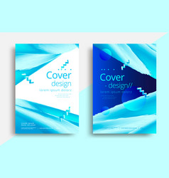 cover template for business design graphic vector image