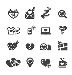 Love icon vector