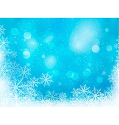 Winter christmas background vector