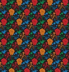 Flower Patterned Background vector image vector image