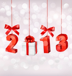 Happy new year 2013 New year design template vector image