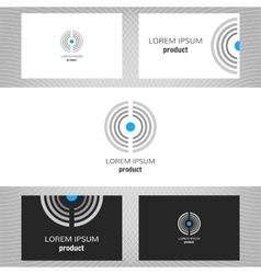 Business logo for the company vector image vector image