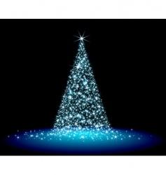 Christmas fir vector image