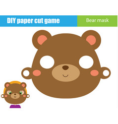Diy children educational creative game make an vector