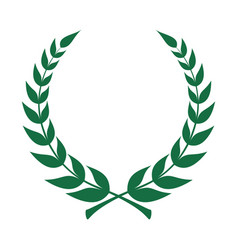 laurel green vector image