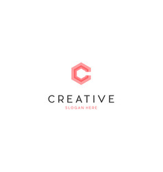Letter ccc creative business logo design vector