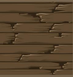 seamless textured wood floor old brown boards vector image