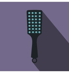 Paddle icon flat style vector image