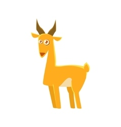 Gazelle Toy Exotic Animal Drawing vector image